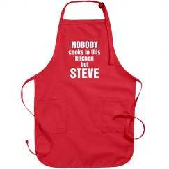 Steve is the cook!