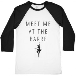 Meet Me At The Barre Workout Tee