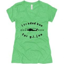 i traded ken for G.I. Joe