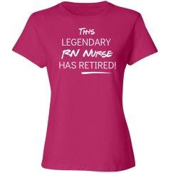 This legendary Registered Nurse (RN) Nurse has retired