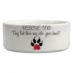 Rescue Dog Bowl