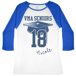 Two Toned Senior Tee