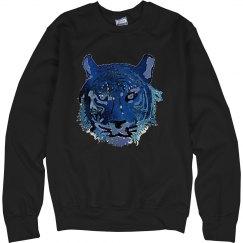 Galaxy Tiger Sweatshirt