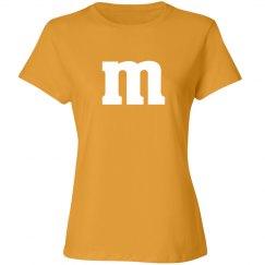 Halloween Orange Candy Shirt Costume