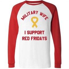 Military Wife w/ Back