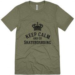 keep calm-go skating