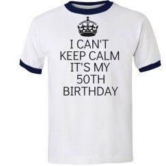 It's my 50th birthday