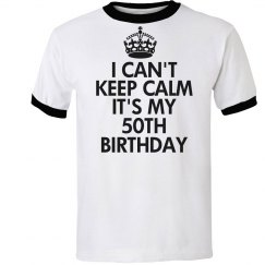 It's my 50th birthday