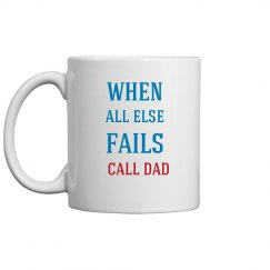 Call Dad Coffee Mug