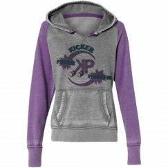 KP Purple Vintage Hoodie