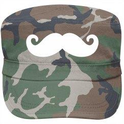 Mustache Fashion Cap