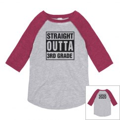 Custom Straight Outta 3rd Grade