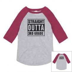 Custom Straight Outta 3rd Grade