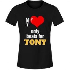 Heart beats for Tony