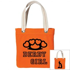 Brass Knuckles Derby Girl