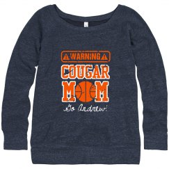 Warning Basketball Mom