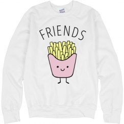 Cute Pastel French Fries Friends