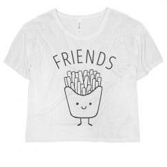 Simple French Fries Best Friends