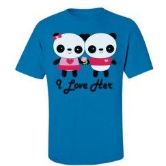 Couples Panda Love