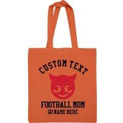 Custom Football Mom Bag