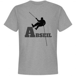 Gray Abseiling or Rappelling