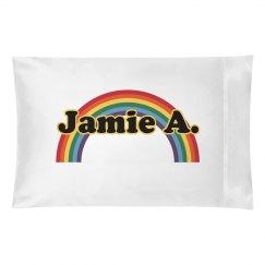 Rainbow Pillowcase