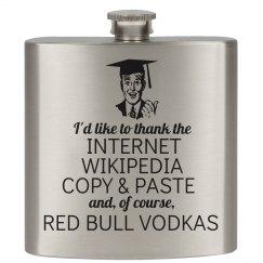 College Graduation Flasks