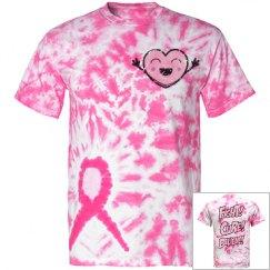 Pink Ribbon Tye-Dye