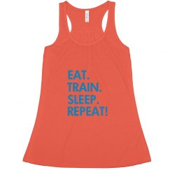 EAT. TRAIN. SLEEP.