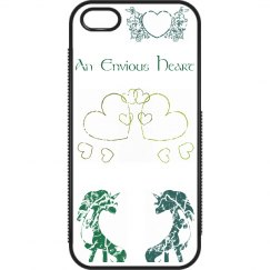 Distressed Heart - Green