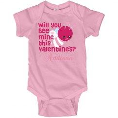 Valentine Will You Bee Mine?