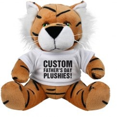 Custom Father's Day Plush