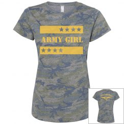 Proud Army Girl