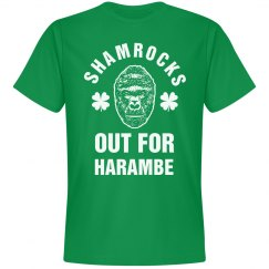 Shamrocks Out For Harambe