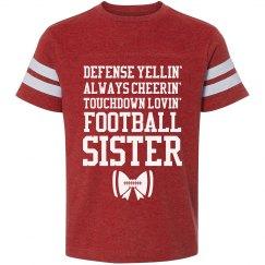 Football Lovin' Sister