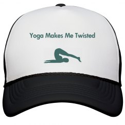 Yoga Makes Me Twisted