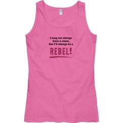 Rebel Tank Top pink