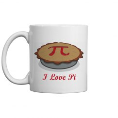 I Love Pi And Coffee