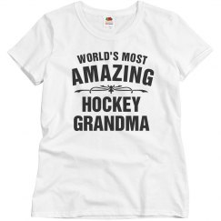 Amazing Hockey Grandma