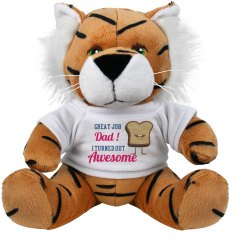 Great Job Dad Plush Animal
