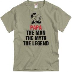 Papa the legend shirt