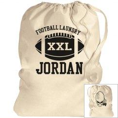 Jordan's football laundry bag