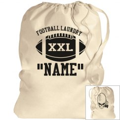 Football laundry bag