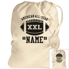American All Star laundry bag