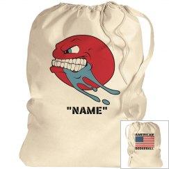 American dodgeball laundry bag