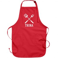 Trina Personalized Apron