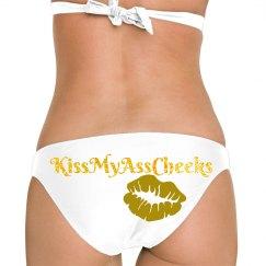 Glam Gold Bikini Bottom