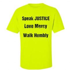 Speak Love Walk