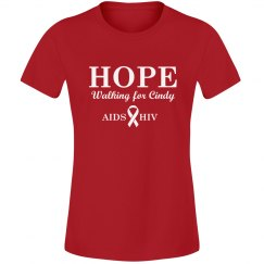 AIDS HIV Charity Walk Tee