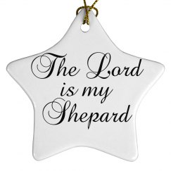 The Lord is my shepard